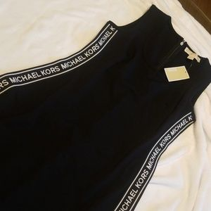 Black & white Michael Kors Midi
